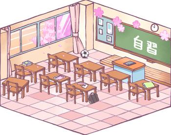 どこかの教室