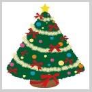 キラキラのクリスマスツリー